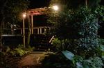 八重島山荘の夜